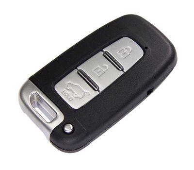 Cмарт ключ HYUNDAI пульт ДУ с лезвием в корпусе с 3 кнопками